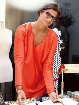 Блуза А-силуэта