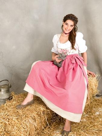 Платье и фартук