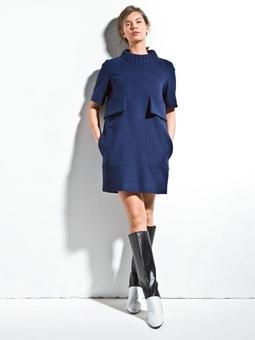 Платье прямого кроя из коллекции JC de Castelbajac