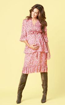 Платье на эластичной кулиске