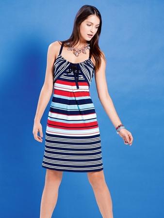 Платье-сарафан на бретелях-спагетти