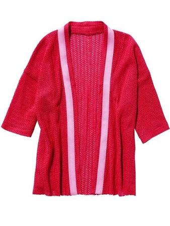 Кардиган а-ля кимоно