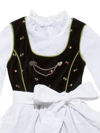 Блузка прямого силуэта для девочки