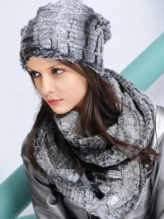 Шапка и шарф-снуд