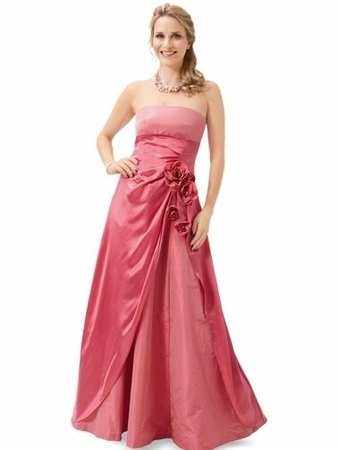 Платье силуэта ампир
