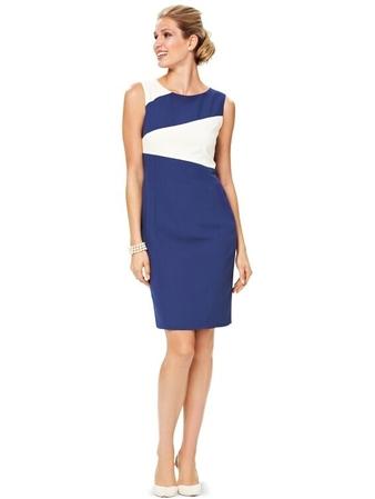 Платье с асимметричной линией талии