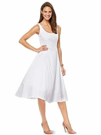 Платье расклешенного силуэта