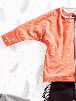 Пуловер с цельнокроеными рукавами