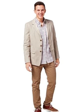 Пиджак приталенного силуэта