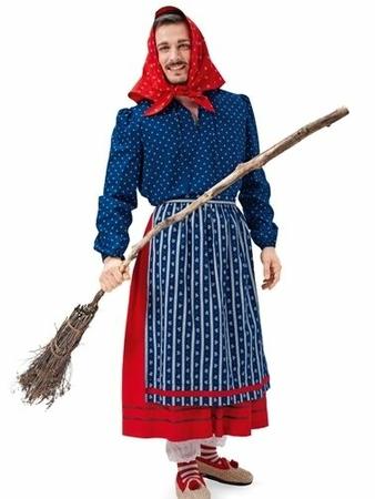Маскарадный костюм «Ведьма»