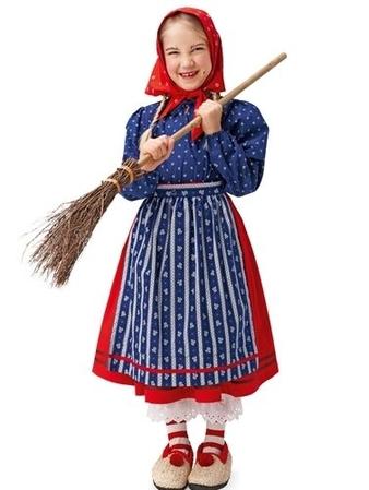 Маскарадный костюм «Ведьма» для девочки