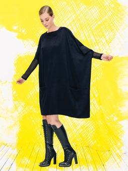 Платье простого кроя