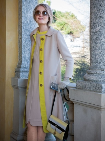 Платье и пальто