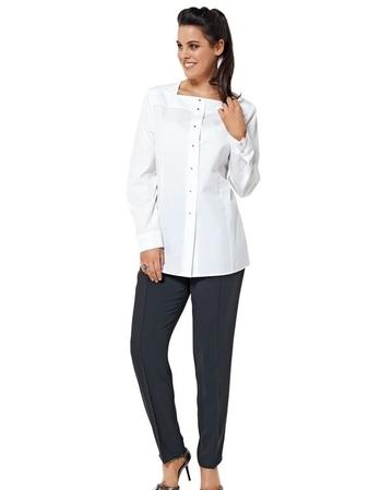 Блуза прямого кроя