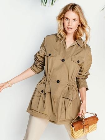 Жакет с карманами-портфелями