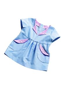 Платье с присборенной юбочкой