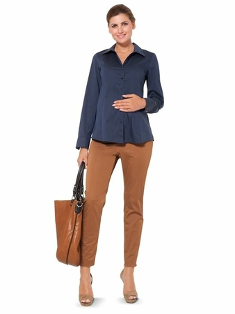 Блузка приталенного силуэта