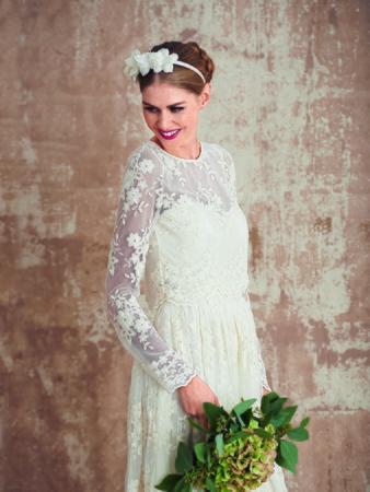 Платье-бюстье с длинной юбкой