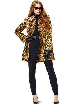 Пальто расклешенного силуэта