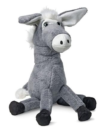 Игрушки: ослик и овечка
