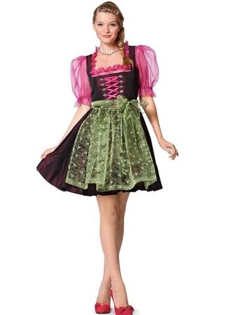 Дирндль: платье и блузка