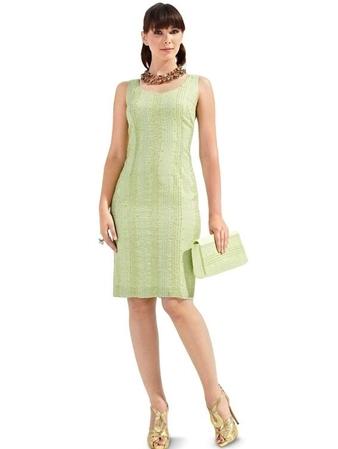 Платье-футляр и накидка