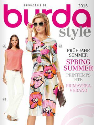 Каталог Burda весна-лето/2016