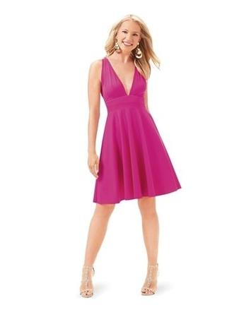 Платье-сарафан с пышной юбкой