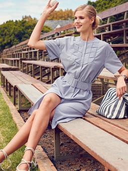 d8c7bd41a0a Шемиз – платье-рубашка  27 лучших выкроек — BurdaStyle.ru