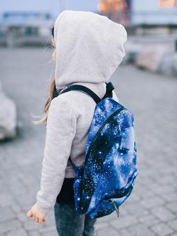 Рюкзак с карманом-портфелем