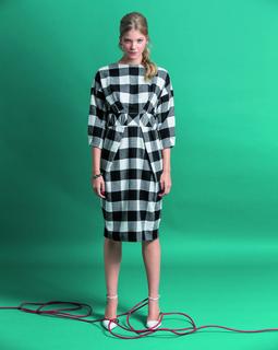 Платье с юбкой-тюльпан