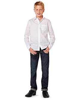 Рубашка прямого кроя