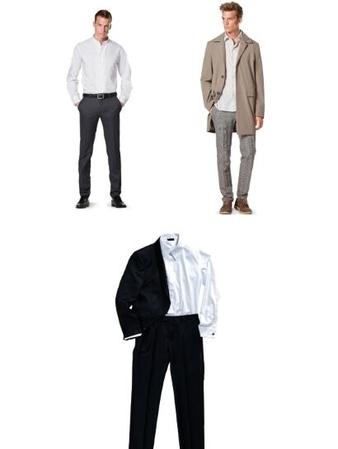 Комплект мужских выкроек: в офис