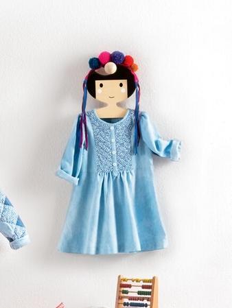 Платье со стеганым пластроном