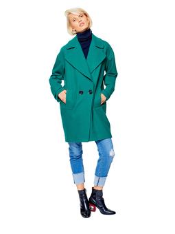 Пальто О-силуэта