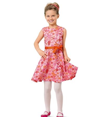 Платье-сарафан с расклешенной юбкой