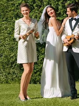 Платье А-силуэта для подружки невесты