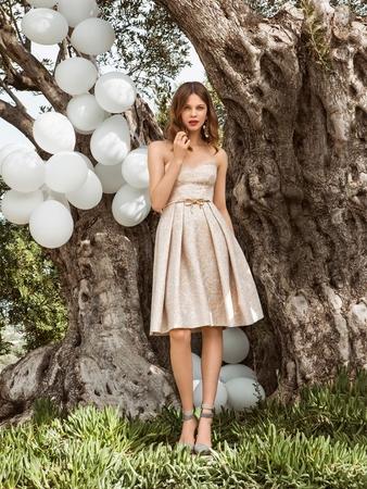 Платье-бюстье для подружки невесты