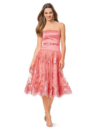 Платье-бюстье с пышной юбкой