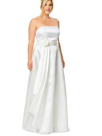 21b85b367ad Свадебное платье-бюстье - выкройка № 6548 из журнала 13 2017 Каталог ...