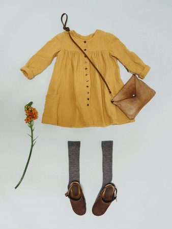 Детское платье бебидолл