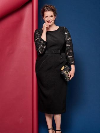 c836ba53ad2 Маленькое черное платье - выкройка № 405 B из журнала 2 2017 Burda ...