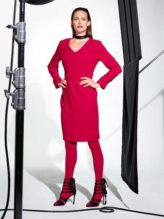 Платье-футляр от марки Steffen Schraut