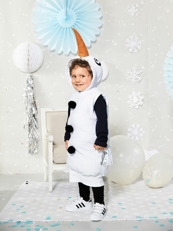 Маскарадный костюм «Снеговик»