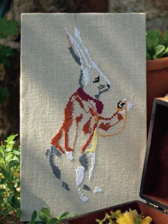 Схема вышивки «Следуй за белым кроликом»