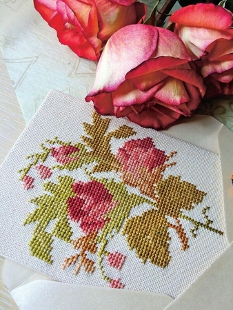 Схема вышивки «Самое желанное письмо»