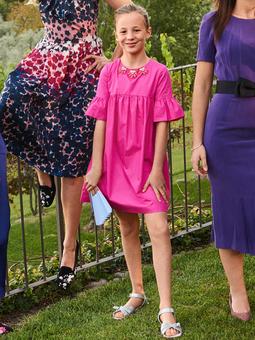 Платье силуэта ампир для девочки