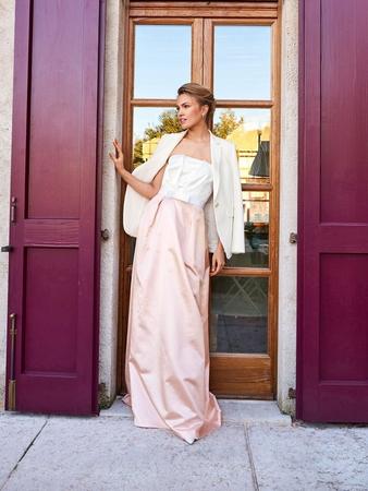 Платье-бюстье для невесты