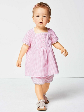 Платье расклешенного силуэта для девочки