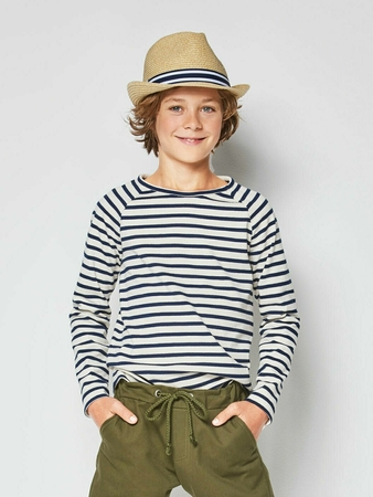 Пуловер с рукавами реглан для мальчика